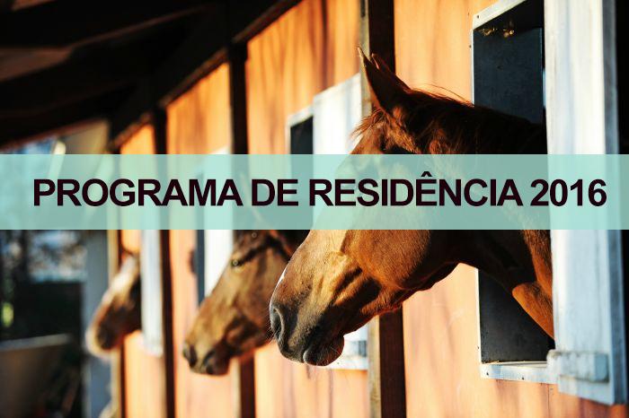Programa de Resid�ncia 2016 - Jockey Club de S�o Paulo