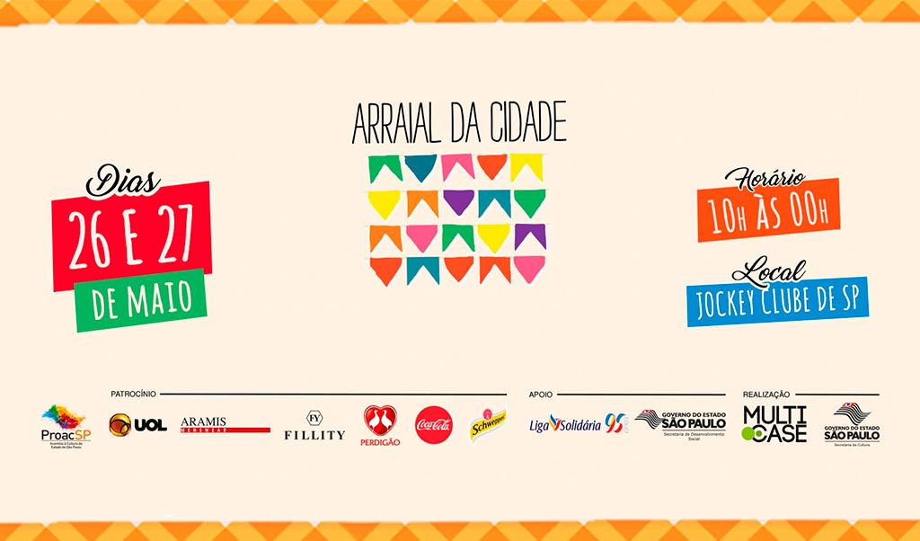 Com música e comida típicas, Arraial da Cidade comemora sua 7ª edição neste final de semana no Jockey Club de São Paulo