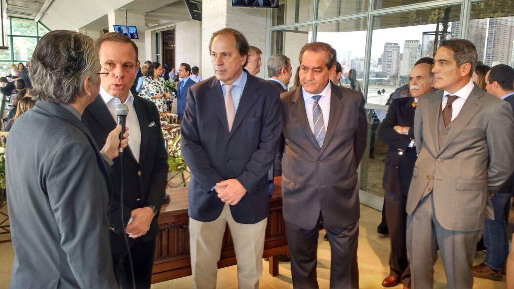 Prefeito João Dória Jr. prestigia o Grande Prêmio São Paulo de Turfe 2017