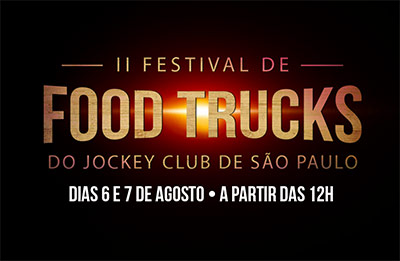 II Festival de Food Trucks do Jockey Club de S�o Paulo
