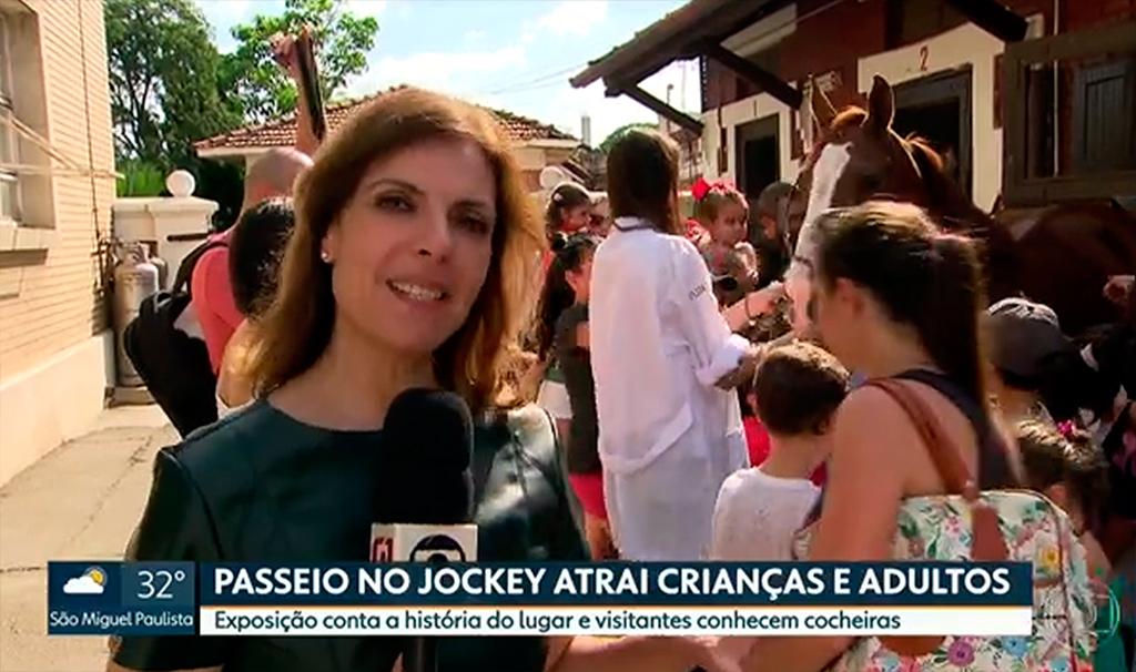 SPTV 1ª edição: Programação de férias do Jockey Club de São Paulo