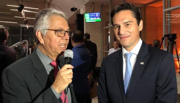 Secretário de Estado da Agricultura Gustavo Junqueira: ''o Governador João Dória está super empenhado em fazer do Hipódromo de Cidade Jardim uma referência para a Cidade de São Paulo e para o Brasil''