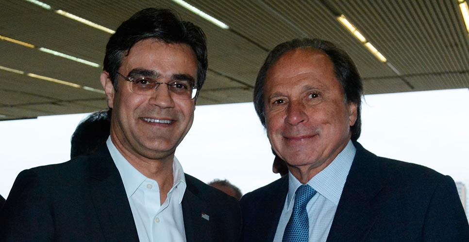 Governador em exercício Rodrigo Garcia: ''O Jockey é um patrimônio de São Paulo''
