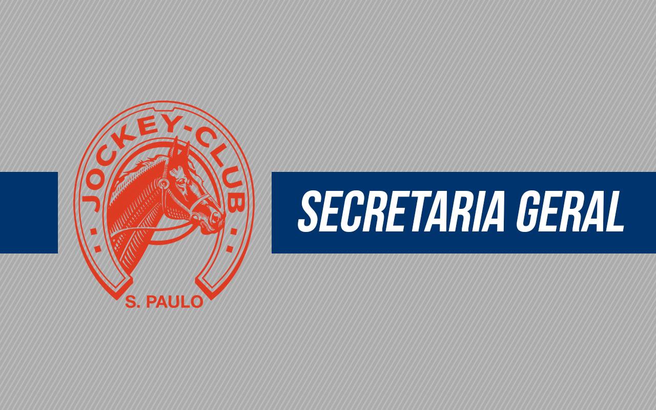 Mudança de local: Secretaria Geral
