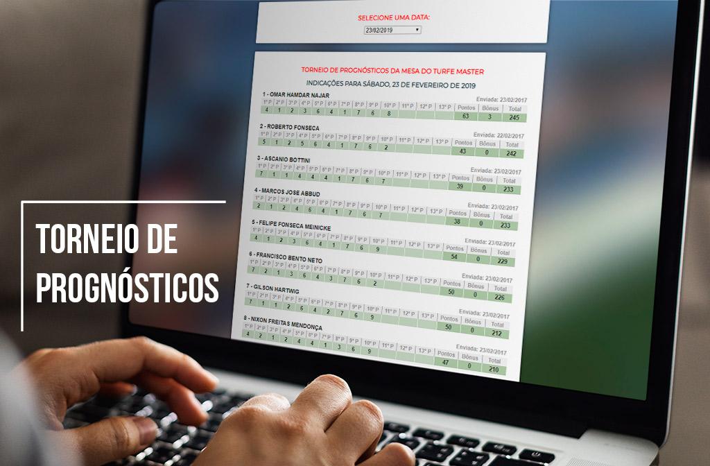 Torneio de Prognósticos Etapa Outubro & Novembro de 2019: Francisco Bento Neto, na série Master e Marcio Leon, na série Aberto, foram  os campeões!!!