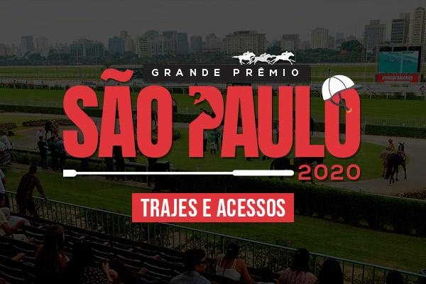 Trajes e acessos para o Festival do Grande Prêmio São Paulo CSN