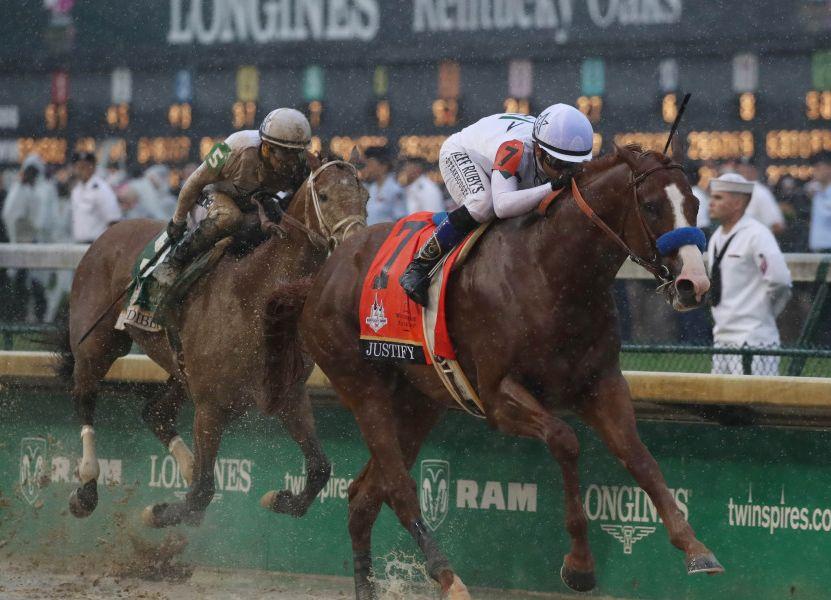 O invicto Justify confirma o favoritismo no Kentucky Derby (G1) e abre caminho para a Coroa