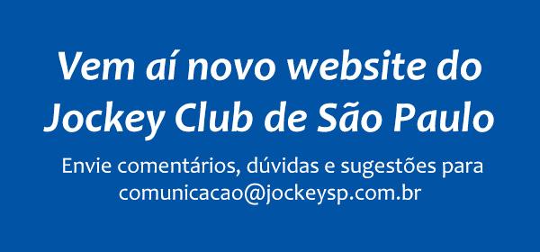 Vem aí novo website do Jockey Club de São Paulo.
