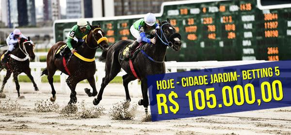 Hoje tem corridas em Cidade Jardim e Gávea!