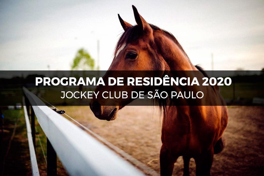 Programa de Residência 2020 - Jockey Club de São Paulo