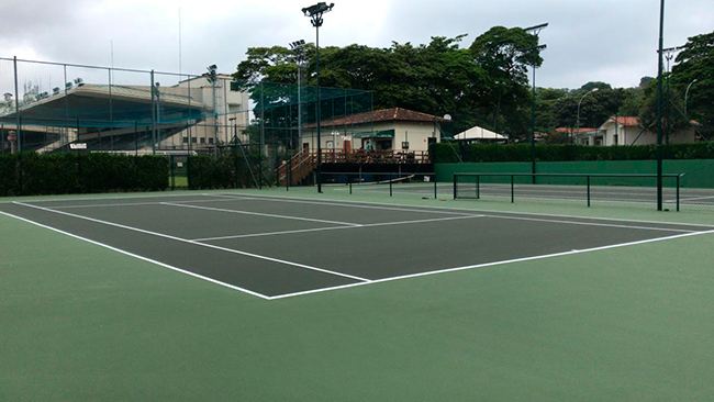 Reabertura das quadras de Tênis, Beach-Arena e Fute-Tênis