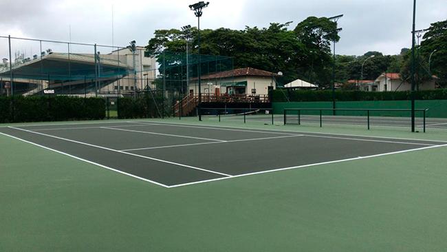 Quadras de Tênis do Jockey Club de São Paulo são reformadas em parceria com a Procopio Tennis